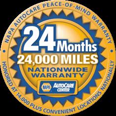 24 months warranty